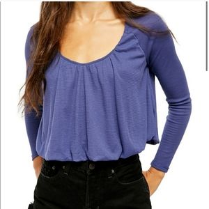 Free People Bondi Thermal Long Sleeve Top